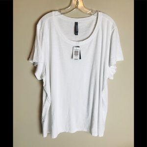 Torrid White Shirt T-shirt Size 4 Blouse Top New